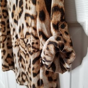INC International Concepts Tops - INC | Leopard print long sleeve blouse